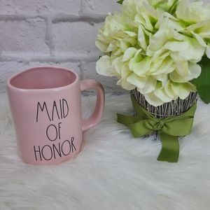 Rae Dunn|NWOB Maid of Honor Pastel Pink Mug